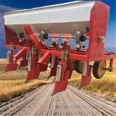供应八行油菜高粱谷子播种机-免间苗蔬菜精播机-玉米谷子覆膜播种机富兴