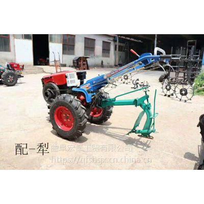 水稻柴油耕地机小型整地锄地机 农田犁地耕地机
