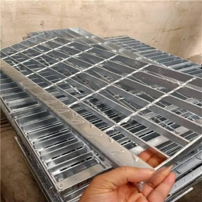 专业生产楼梯踏步板,踏步板经济实用,标准规格「泰江钢格板」