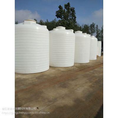 港诚 避光防腐蚀装柴油桶 5吨三氯化铁储罐 家用室外水箱