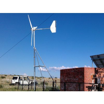 风光互补发电机2000W 道路照明 路灯用 可带空调风力发电机二千瓦兰州晟成