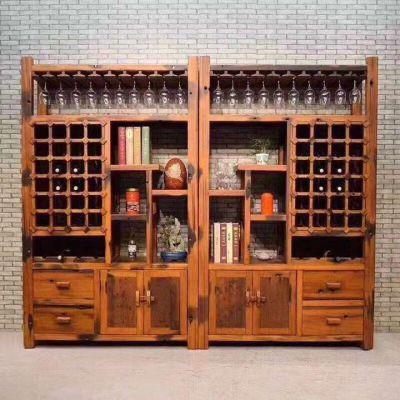 老船木中式功夫茶桌茶几茶台户外实木家具客厅阳台茶几