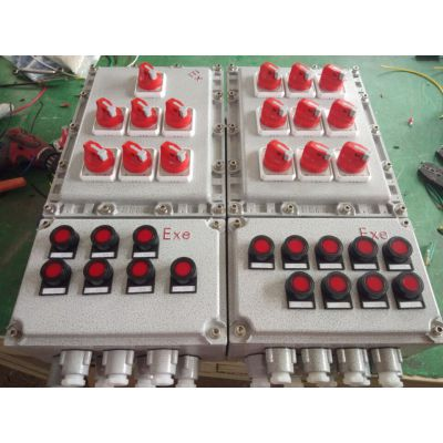BXMD防爆动力配电箱,铝合金防爆配电箱质量保障