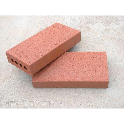 河南烧结砖厂家供应陶土砖页岩砖拉毛砖 商业小区专用