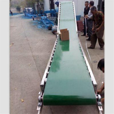 固定带式输送机防油耐腐 斜坡式输送机