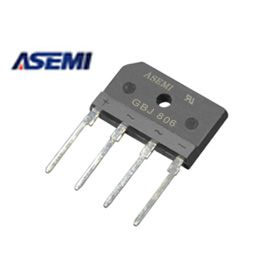 asemi(图)-gbj810整流桥堆接法-gbj810