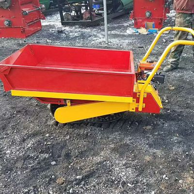 卡博恩果园履带式小型可移动搬运车农田小型卸货机履带运输车