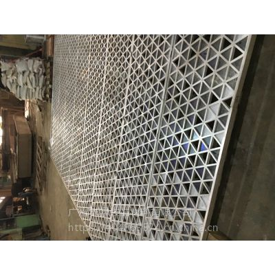 广州华睿供应设计制作安装大型金属屏风