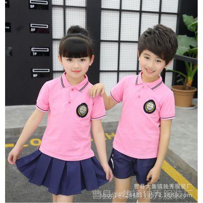 六一儿童合唱服演出服套装幼儿舞蹈服表演服男女短袖背带裤批发