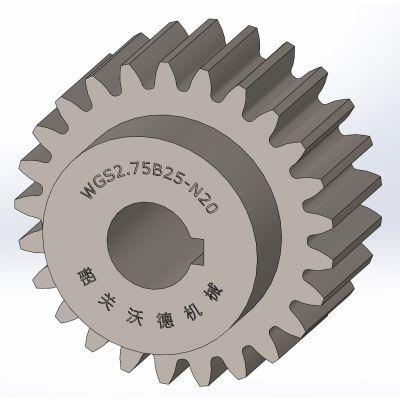 供应标准直齿轮【 M2.75 】,B型,精密齿轮,正齿轮