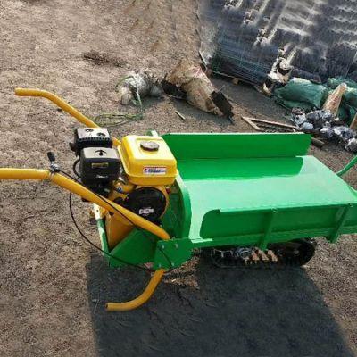 卡博恩农业园林履带式手推车简单轻便多功能履带搬运车