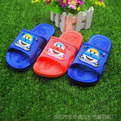夏季新款卡通男女童软底凉拖鞋 小童中童儿童拖鞋 f防滑耐磨凉拖