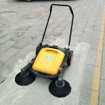 清洁车 手推扫地机 双边刷可调清洁车绿色环保