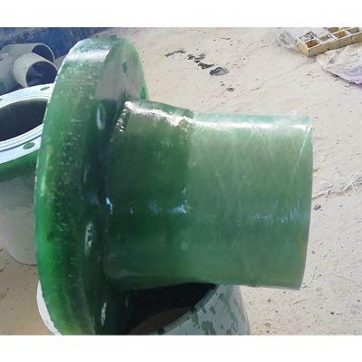 喷淋塔连接法兰 管道连接法兰片 玻璃钢平面三通 品牌华庆