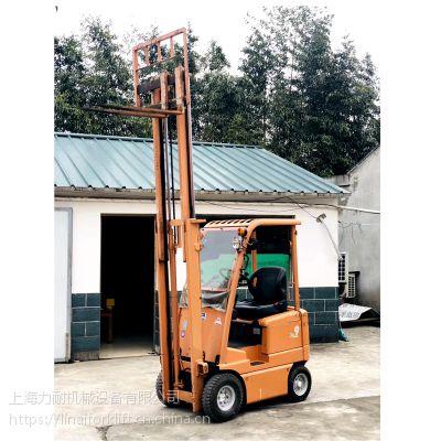 二手丰田电动叉车 0.9吨平衡重式电瓶叉车 车况好