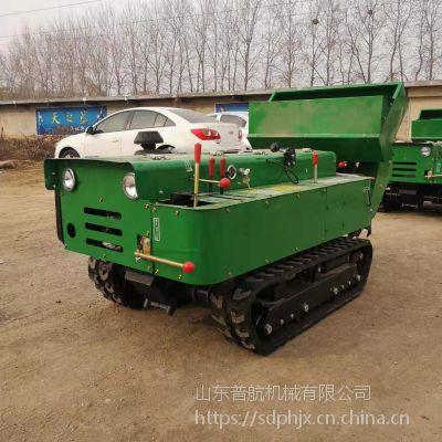 普航 多功能果树施肥回填机 履带施肥机 35马力履带开沟机价格