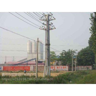 【益瑞】电力钢杆打桩厂家 钢杆基础基业