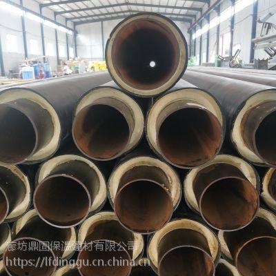 海南鼎固57*3.5钢套钢泡沫夹克管生产厂家