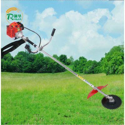 燃油式汽油割草机 山地丘陵直轴式割灌机 手拉启动剪草机