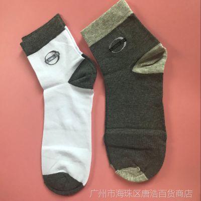 男士袜子 运动休闲袜子春秋款 独立包装 吸汗防臭 畅销2元货源