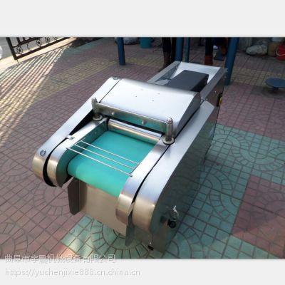 豆腐皮切丝机厂家 芹菜切段机 电动省人工的鱼皮切块机
