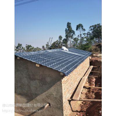 仿古ASA合成树脂瓦,塑钢屋面瓦,屋顶隔热装饰瓦