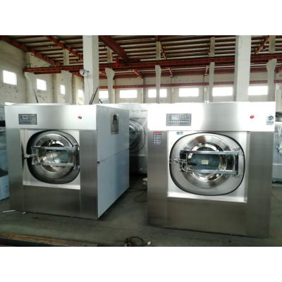 大型宾馆布草洗涤设备 全自动酒店宾馆洗衣机烘干机