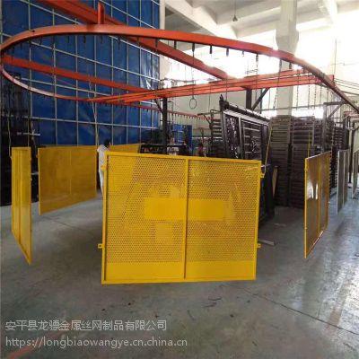 黄色安全护栏制作 公路施工隔离栏 隔离护栏厂家