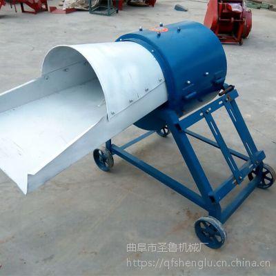 大型柴电两用铡草揉丝机 玉米杆揉搓机 圣鲁机械