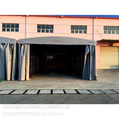 郴州专业定做推拉雨棚大型仓库帐篷推拉雨棚大排档烧烤棚(布)移动伸缩遮阳棚户外停车蓬