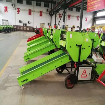 广西青饲料加工制造机械国家补贴多少钱 全自动打捆包膜机销售价格