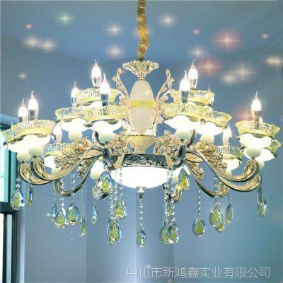 【特价新品】中式吊灯 锌合金家用吊灯 卧室灯 客厅平板灯 led灯饰 餐厅灯 商业灯饰
