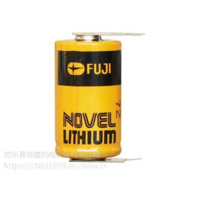 日本原装 富士FUJICR2/38.L电池烟雾报警器锂电池PLC用锂电池
