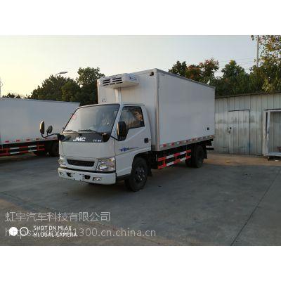 江铃顺达4.2米冷藏车 3.0L冷链车价格