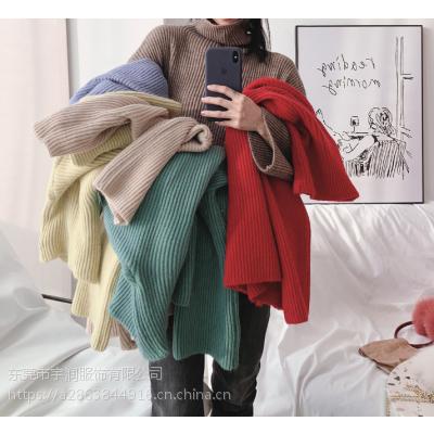 便宜韩版毛衣清货尾货女式毛衣处理杂款便宜羊毛衫套头毛衣5元以下
