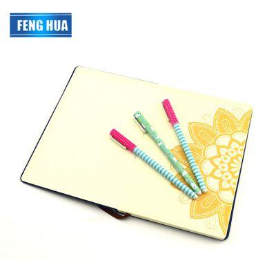 开学季新款可用圆珠笔 格子圆珠笔拔盖类型 墨水可定制颜色