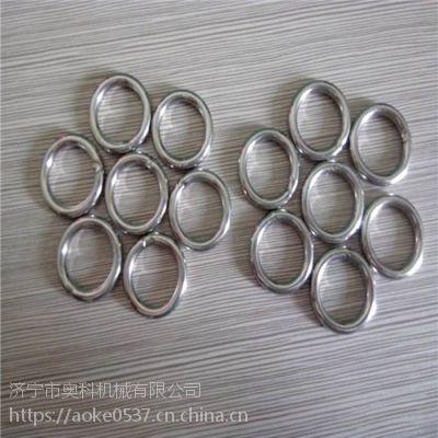 铁圆环 铁线焊接圆圈 奥科厂家品质保障