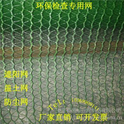 恒灿厂家长期供应1.5针工地盖土网 裸露地面覆盖网
