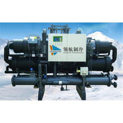 螺杆式冷水机-盐田区水冷螺杆式冷水机厂家-领航制冷(图)
