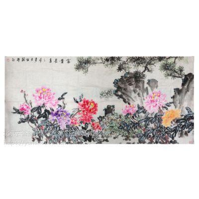 国画艺术家张峰花鸟画