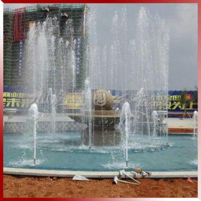 花岗岩石雕风水球喷泉 广场大型风水球加工厂家