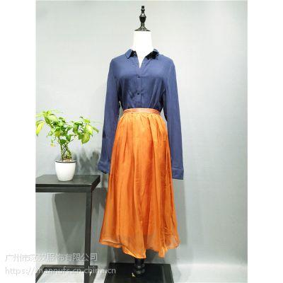 上海高端原创设计棉麻大码女装尘色 棉麻针织女装品牌折扣