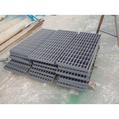 南阳市卧龙区价格低廉 复合格栅板 污水处理厂脚踏板 重型钢格板 喷塑不生锈