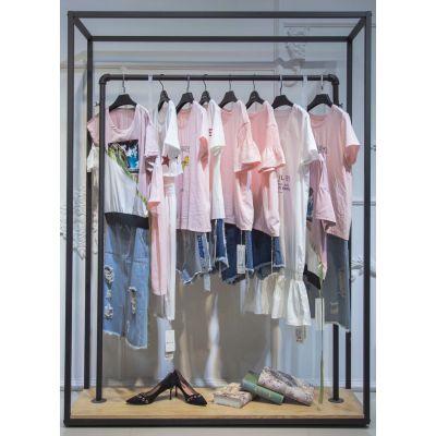 相约四季女装淘宝上的品牌折扣货源广州连衣裙长裙朋克羊皮中老年女装