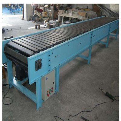 可承重链板输送机安装厂家 铁件运输链板输送机型号加工厂家