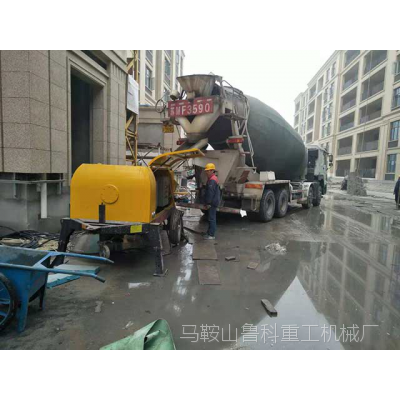 地泵细石混凝土泵价格-施工这样做效率更高