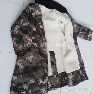 厂家销售劳保羊皮大衣 皮毛一体大衣 羊剪绒大衣