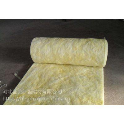 建筑耐火阻燃屋顶玻璃棉卷毡生产厂家/每平米价格